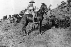 Winston Churchill as a reporter for the Morning Post newspaper during the Boer War, 1899
