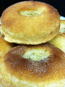 Amazing GF Cinnamon Sugar Doughnuts