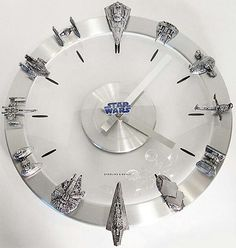 Star wars wall watch