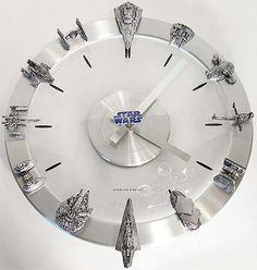 Star wars wall watch