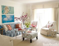interior, chair, living rooms, blue, make a room, hous, furniture finishes, live room, decorating tips