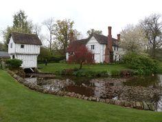 BROCKENCOTE MANOR,14TH CENTURY MANOR HOUSE.SHROPSHIRE