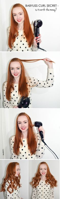 Is the Babyliss Curl Secret worth the money? I find out out in this review, tutorial and video from www.ForeverAmber.co.uk #babyliss #curls #hair #tutorial