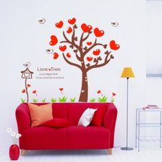 Love Tree Wall Sticker