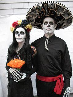Day of the Dead costumes /  Dia de los Muertos : )