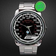 BMW GS Motorbike Mph 140 Mph 220 Kmh Speedometer by jokotingkir, $14.00