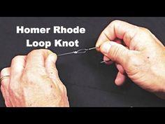 Homer Rhode Loop Knot- Heavy Leader- Saltwater Experience - YouTube