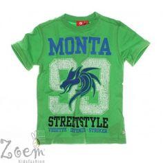 Mooi t-shirt van Monta!