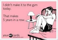 Haha! Love working out but not the gym