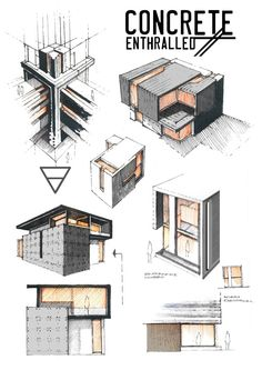 Concrete Enthralled by Anique Azhar, via Behance