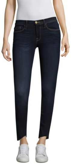 66ffd2f06670 FRAME Womens Le Skinny De Jeanne Scoop Jeans Baylis 28 -- Read more at the
