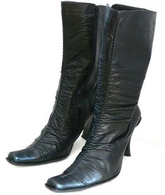9a245c834ad Helsar Leather Boots Side Zip Made in Portugal Size Euro 41 US 9 5 Shoes