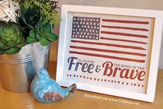 Star Spangled Banner Inspired Printable - seven thirty three