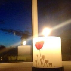 At the setting of the sun ... #lightsout  #remember #nofilter #LightsOut #WeRemember #WW1