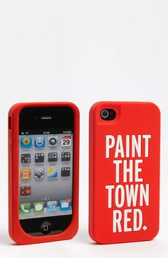 kate spade new york 'paint the town red' iPhone 4 & 4S case