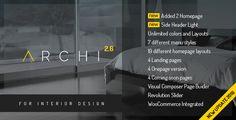 Archi - Interior Design WordPress Theme by OceanThemes #architecturewordpresstheme #modernwordpresstheme #minimalistwordpresstheme