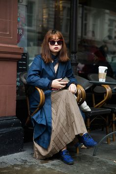Street Style from London Fashion Week Fall 2016