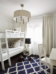 Studio Barw - świat wnętrz i pokoi dziecięcych: Łóżko piętrowe - piękne oszczędzanie miejsca