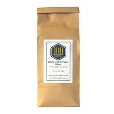 Tribe Coffee's Espresso Blend will capture your senses with aromas of truffles, chocolate, red cherries, cinnamon and hazelnuts