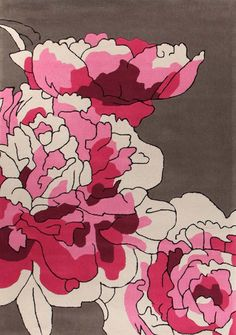 Rose Hand Tufted Rug - T&W Rug Collection