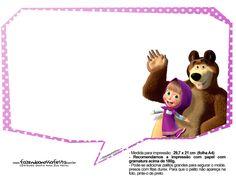 Plaquinhas Masha e o Urso 20