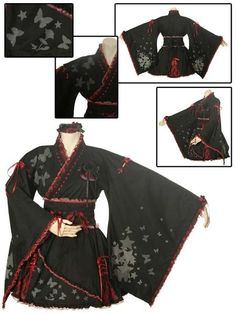 I found 'Gothic Lolita Star Temptation Yukata (l032) Gothic Lolita - Japanese [Cosmates]' on Wish, check it out!