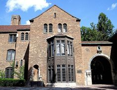 Marquis Hall and Arch: Cranbrook School | A two-story bay wi… | Flickr