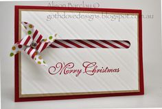 Gothdove Designs - Alison Barclay Stampin' Up! ® Australia : Stampin' Up! Australia - Christmas Pinwheel Card