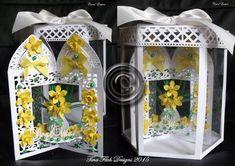 Daffodil Carousel Card Box CraftROBO CAMEO on Craftsuprint - Add To Basket!