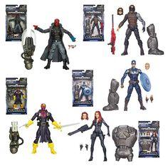 Captain America Marvel Legends Action Figures Wave 2 - Hasbro - Captain America - Action Figures at Entertainment Earth