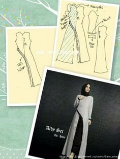 27 likes 1 commentsModel gmis pesta b.Hijab Fashion - Hijab Dresses 2018 What's New Check out our collections of Beautiful hijabsClothing For Muslim Women Dress Sewing Patterns, Sewing Patterns Free, Sewing Tutorials, Clothing Patterns, Fashion Sewing, Diy Fashion, Kaftan Pattern, Sewing Blouses, Fashion Vocabulary