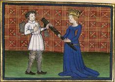 BNF Français 376 - Pèlerinage de vie Humaine, f. 028v