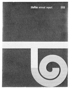 Lester Beall — Titeflex Annual Report (1958)