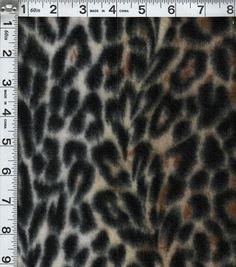 Blizzard Fleece Prints-Leopard 5.49