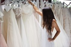 Tip for shopping for your wedding dress from 100 Layer Cake