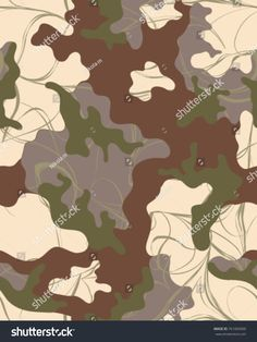 Abstract camouflage pattern. Seamless vector wallpaper.Colorful background. Unique clothing style. Vector illustration. Military print