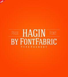 Font - Hagin Serif