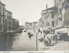 Housing, Conditions: Italy. Venice. Slums: Social Conditions in Venice, Italy: 1905: The Ghetto: Venice. | Harvard Art Museums