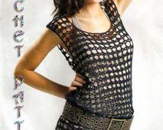 Vintage Crochet for Girls and Woman New by ErenaCrochetStudio