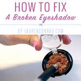 Beauty 911: How to Fix a Smashed Eyeshadow