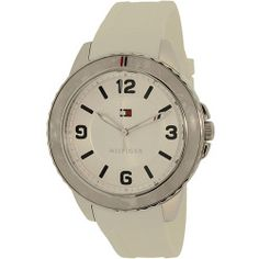 Tommy Hilfiger Women's 1781541 White Resin Quartz Watch