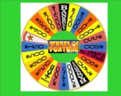 Wheel of Fortune Review Game - Use this game to review skills in any subject area. Students must answer a question correctly for a turn at spinning the wheel and solving the problem. Sample 4th grade science questions are included.  Resource type: SMART Notebook lesson  Subject: all  Grade: Grade 3-12