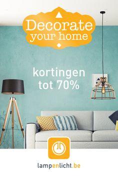 Inspirerende beelden en praktische tips voor het creëren van uw droomhuis of- tuin. Decorate Your Home. #lampenlicht #decorateyourhome