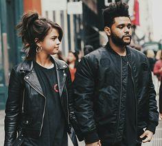 Selena Gomez and The Weekend #SelenaGomez #TheWeekend