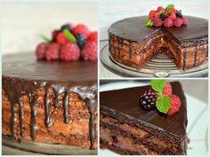 Julias zuckersüße Kuchenwelt: Mousse au chocolat Torte