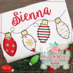 Applique & Embroidery Originals Digital Design 2178 Christmas   Etsy