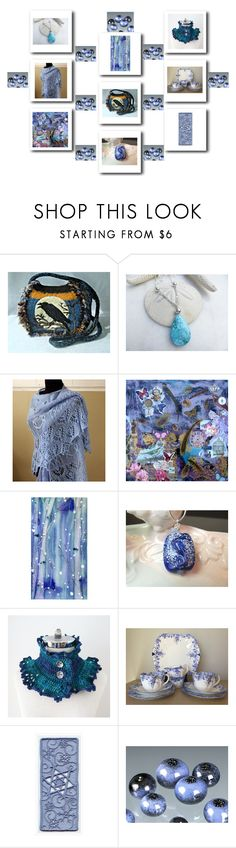 """Blue Gifts"" by keepsakedesignbycmm ❤ liked on Polyvore featuring Umbra, jewelry, accessories and homedecor"