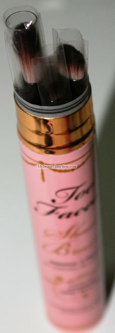 My Beauty Junction: Review: Too Faced Shadow Brushes Essential 3-Piece Set