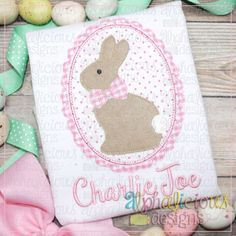 Classic Bunny in Frame-Triple Bean Embroidery Software, Embroidery Files, Embroidery Applique, Applique Designs, Machine Embroidery Designs, Vinyl Designs, Screen Printing, Cross Stitch, Bunny
