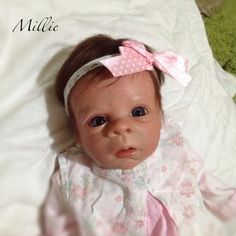 Just finished this little sweetie this morning:).Bonnie Browns Millie sculpt.Reborn by Angelsonlynursery